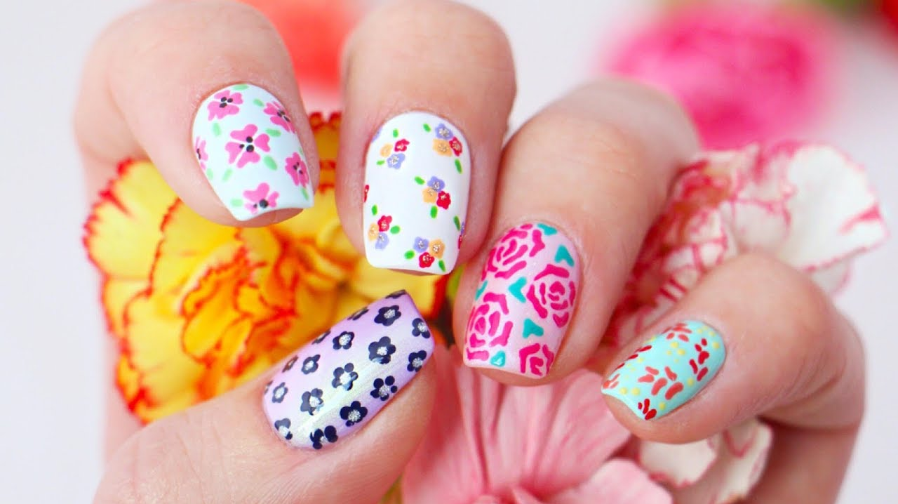 Create Stunning 3D Flower Nail Designs